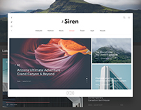 The Siren Wordpress Blog&Magazine ✦ Free ✦
