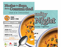 Community Soup Night Branding