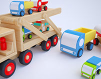 Learn colors with Carrier Car Truck | Nursery rhymes |