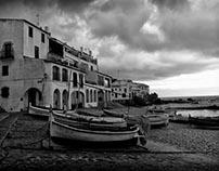 Calella de Palafrugell, cloudy day...