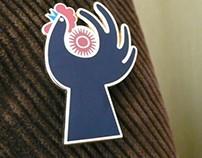 5 AM Club Badge