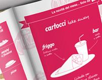 MORZILLI fast food | promotional brochure