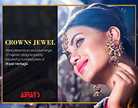Digital Content for Abrar's Designer Jewelry