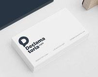 Declamatoria.com - visual identity