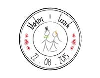 Wedding invitation and stationery for Madzia & Leszek