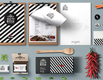 Branding / Stationary for Grill House The Hot Nest