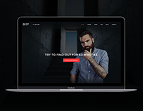 Escape Room - PSD Template