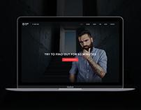 Escape Room - PSD Template