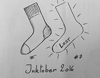 Inktober 2016 day 7 - Lost