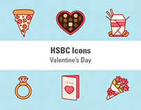 HSBC's Icons - Valentine's Day