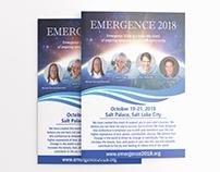 Design a flyer for large Mind-Body-Spirit event