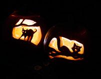 Matilda and Bongo's Pumpkins