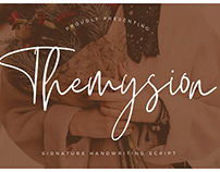 Themysion Script Font