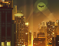 """Gotham"" by James Gilleard"