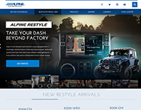 Alpine USA Web Site Proposal