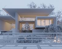 Spring Villa ( simulation ) - Lighting