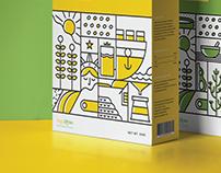 Soya Garden - Soymilk Packaging Design