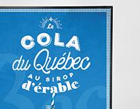 Bec Cola – affiche PLV