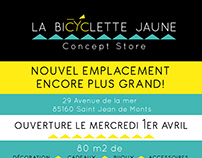 Flyer La bicyclette jaune