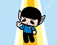Leonard Nimoy (Mr Spock)