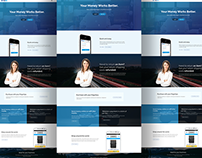 Paypal Home Page Redesign Concept.