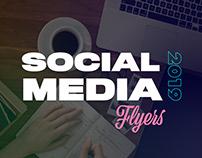 Social Media 2019 - Flyers