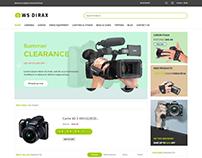 WS Dirax –  Digital Cameras WooCommerce Theme