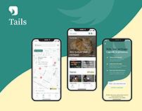 Tails Concept App - Designflows 2020