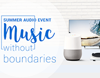 Summer Audio Event - Campaign