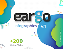 eargo Infographics powerpoint template