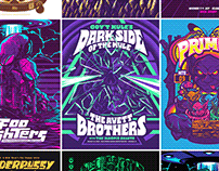 Gig Posters - Vol. 1