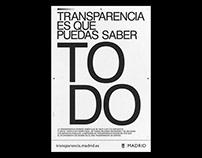 Transparencia - Madrid