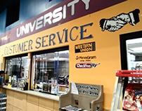 University Foods Signage
