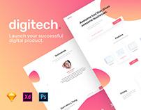digitech - responsive theme