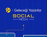 Geleceği Yazanlar Social Media