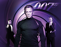 007 James Bond Digital Promotion Videos for Digiturk