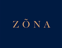 Logotype for ZÓNA shoes store