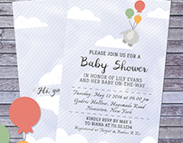 Baby Shower Invitations Vol 2