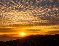 Barcelona's sunsets