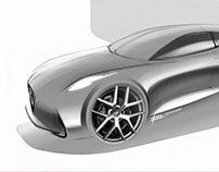 Alfa Romeo concept -Ps render