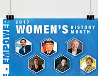 2017 Women's History Month_Promotional Content