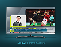 ADIL OYUN | SPORT TALK SHOW GRAPHIC PACKAGE