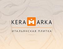 Keramarka Landing Page