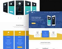 Apps Landing Page Design