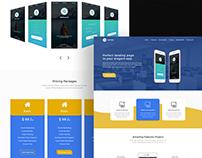 Apps Landing Page Design