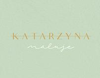 Katarzyna Maluje