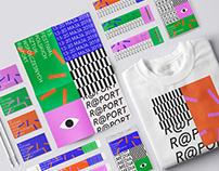 Contemporary arts festival - identity concept