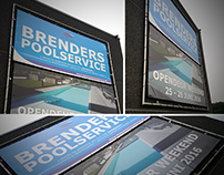 Big outside banners | Brenderspoolservice.be