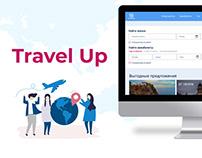 """""""Travel Up"""" (UI/UX Design)"""