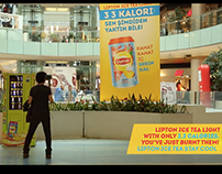 Lipton Ice Tea - Calorie Burning Vending Machine